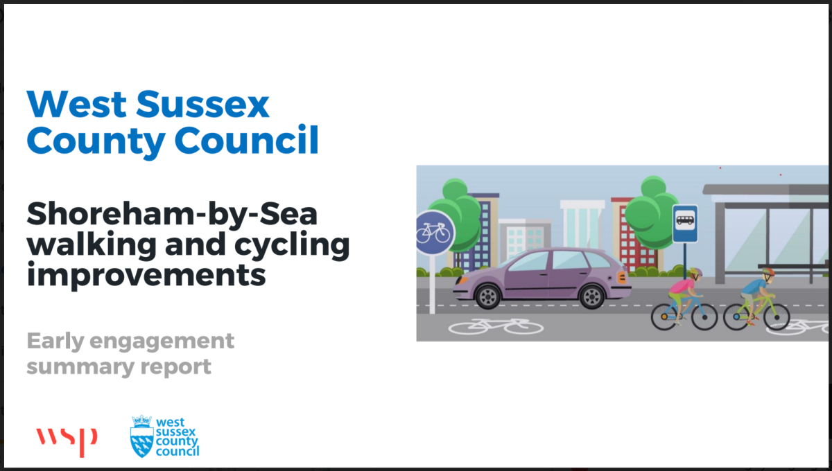 WSCC publishes its Shoreham engagement report – and it's goodnews